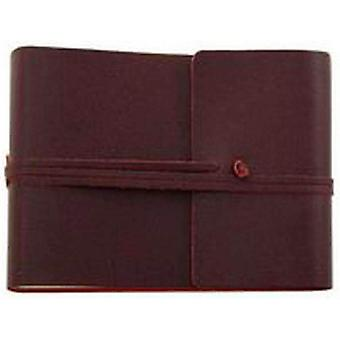 Coles Pen Company Saffiano Large Leather Photo Album - Burgundy