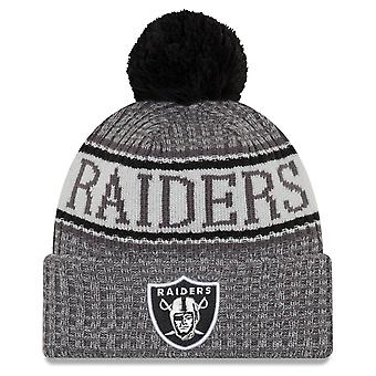 New era NFL sideline graphite hats - Oakland Raiders