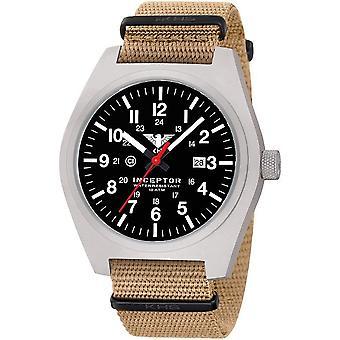 Reloj acero interceptor de KHS KHS. CEIN. NT