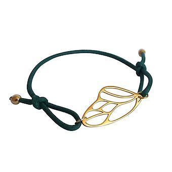 Armband knots Butterfly ballen knooppunt armband zilver verguld