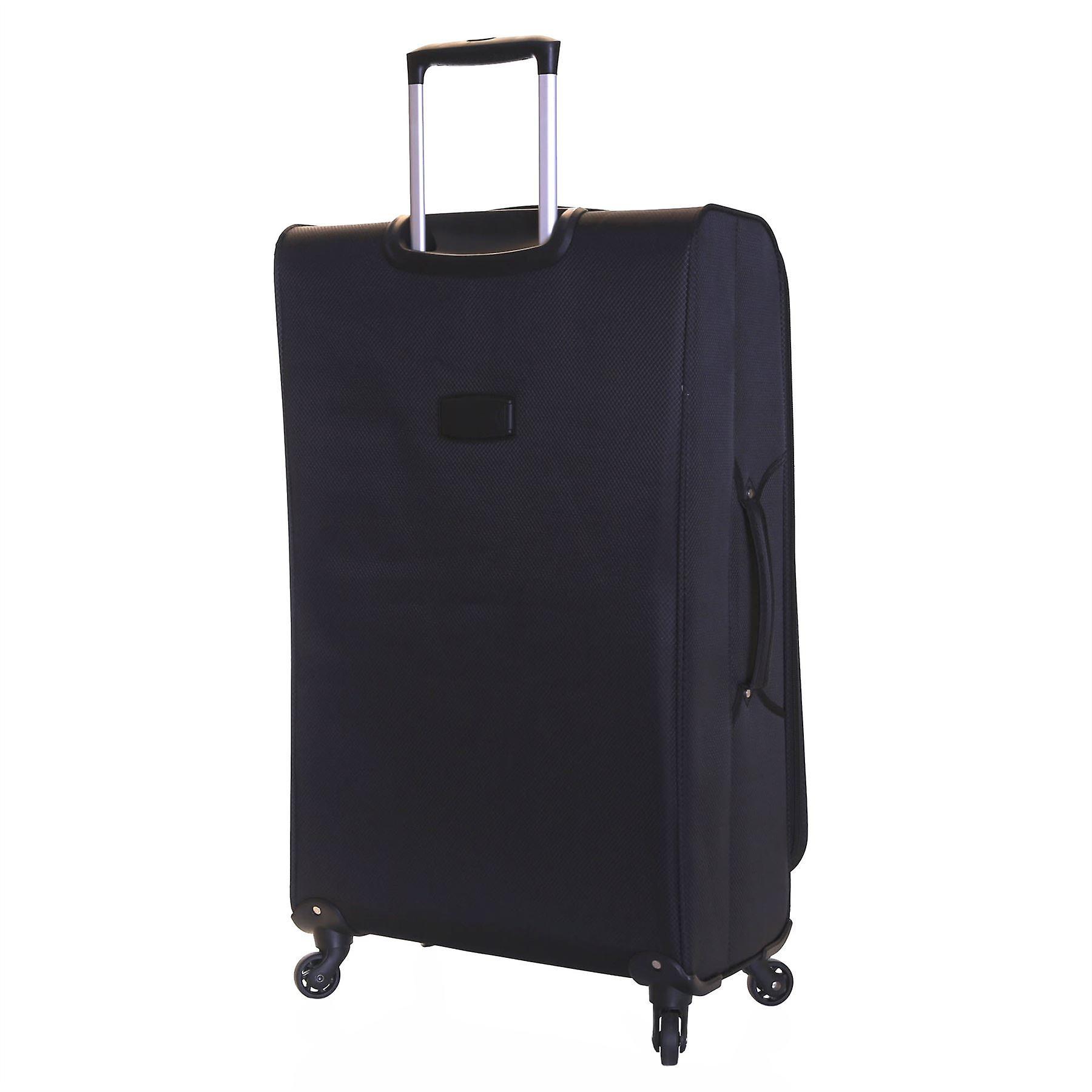Karabar Marbella 79 cm Lightweight Suitcase, Black