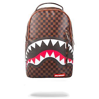 Sprayground Sharks In Paris Sleek 15 Inch Backpack Brown