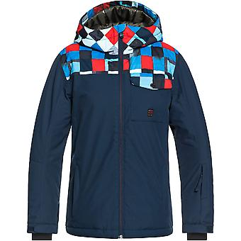 Quiksilver Boys Mission Block Waterproof Warm Ski Coat