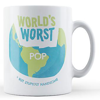 World's Worst Pop - Printed Mug