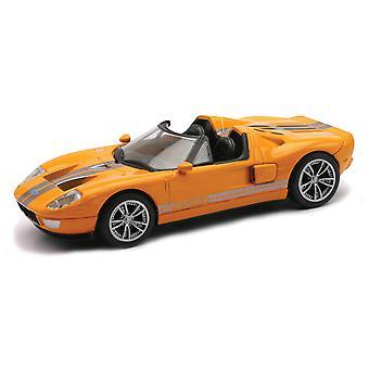 ダイキャスト製オレンジ フォード GTX1 1:43 スケール