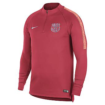2018-2019 Barcelona Drill Training Top (Tropical Pink)