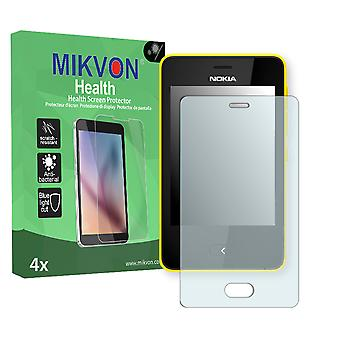 Nokia Asha 501 Screen Protector - Mikvon Health (Retail Package with accessories)