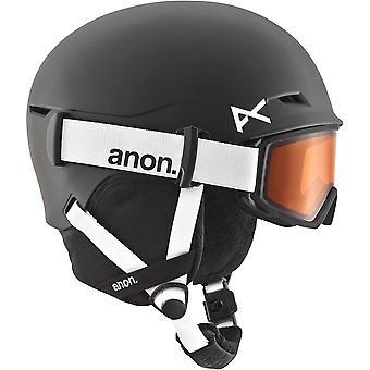 アノンの定義子供ヘルメット - ブラック