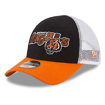 Cincinnati Bengals NFL New Era 9Forty Youth Trucker Snapback Hat