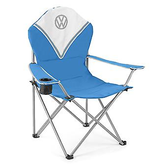 Volkswagen Padded Folding Camping Festival Chair Fold Up Outdoor Seat With Bag