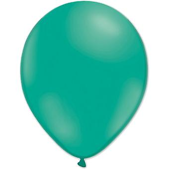 Ballonnen smaragd groen 10-pack