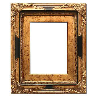 12, 5 x 17, 5 cm or 5 x 7 inch photo frame in gold