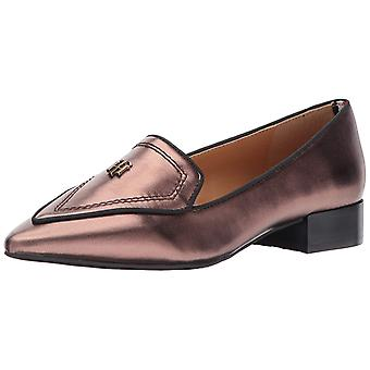 Tommy Hilfiger Womens Harvard Leather Pointed Toe Loafers