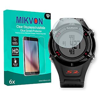 Garmin Approach S2 Screen Protector - Mikvon Clear (Retail Package with accessories) (reduced foil)
