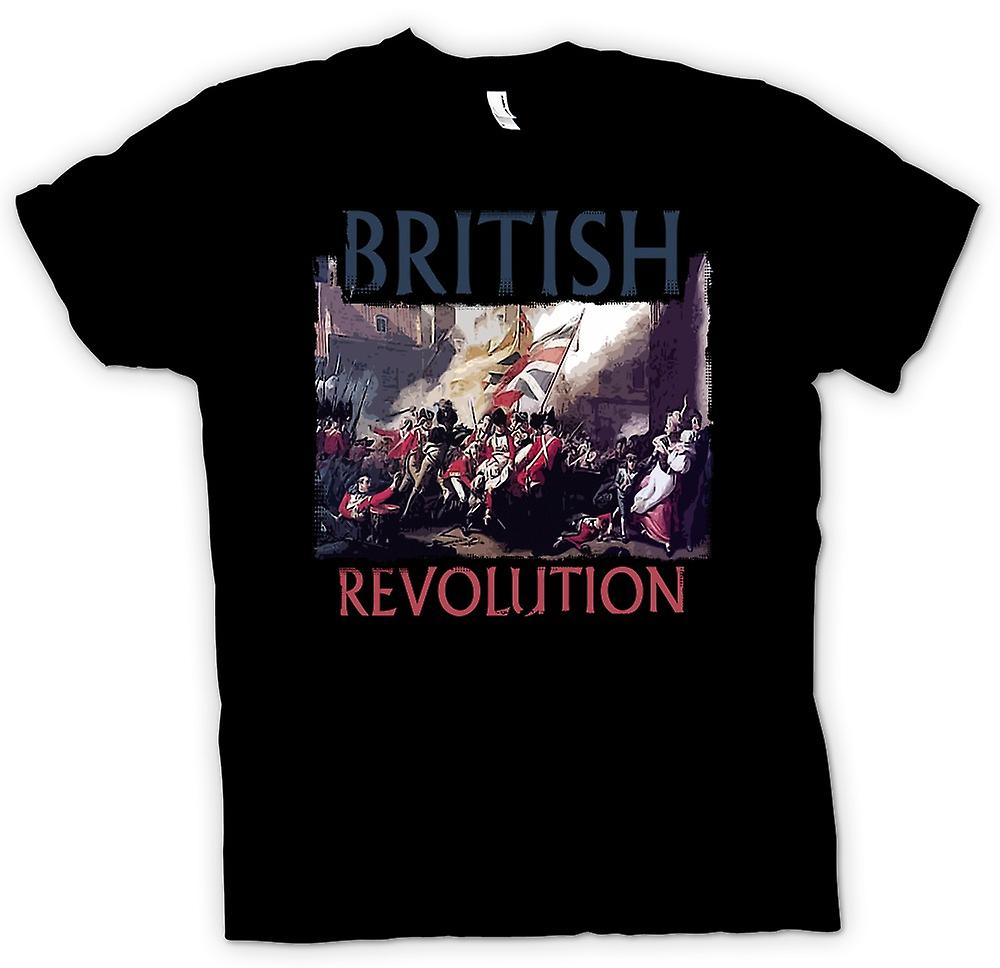 Mens T-shirt - British American Revolution