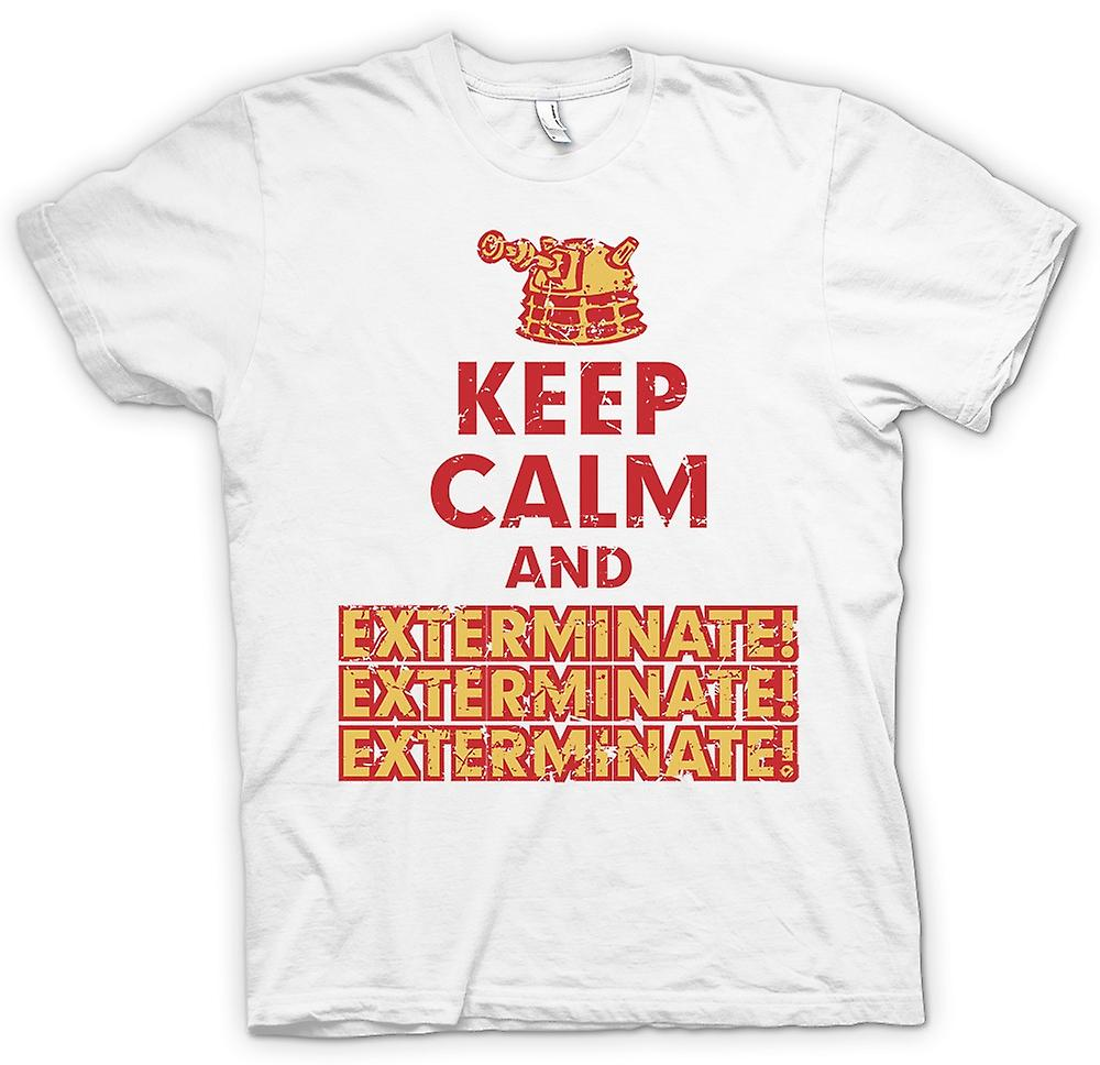 Womens T-shirt - Keep Calm And Exterminate