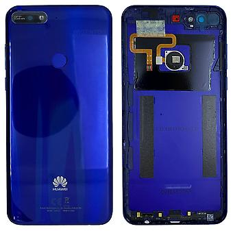 Huawei battery cover battery cover battery cover blue for Y7 2018 97070THH repair new