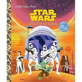 Star Wars: Attack of the Clones (Little Golden Book)