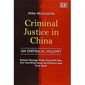 Justicia Penal en China
