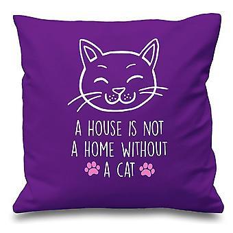 : وسادة الأرجواني الغطاء بمنزل ليس منزل دون أ القط 16