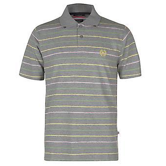 Pierre Cardin Mens Stripe 3 Polo Shirt T T-Shirt Short Sleeve Tops