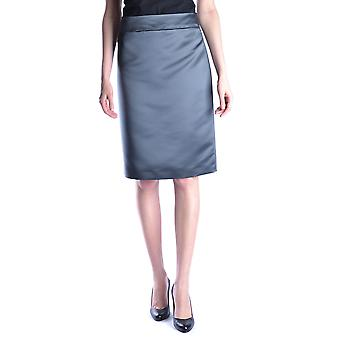 Armani Collezioni Grey Satin Skirt