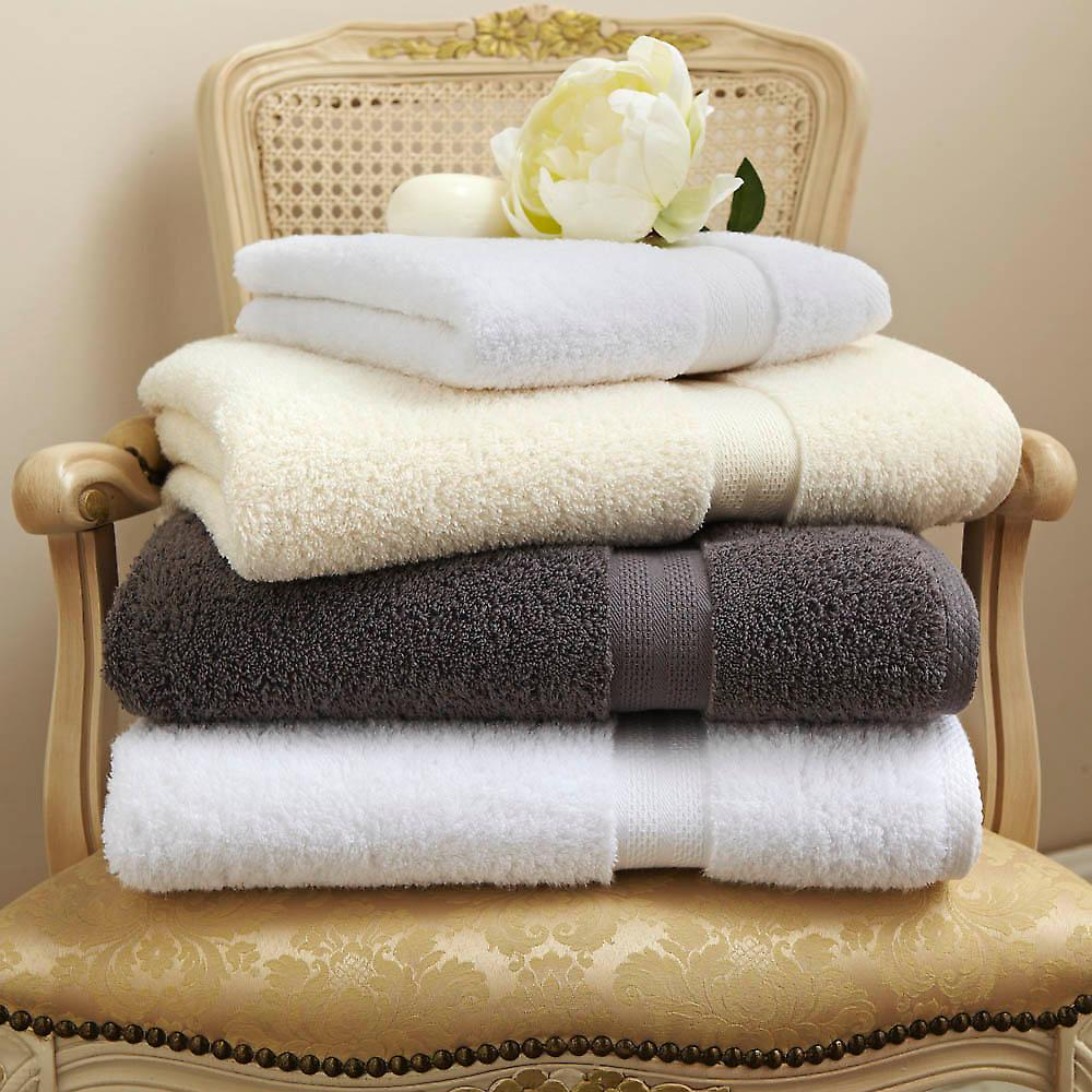 Zero-Twist Cotton 600gsm Towels