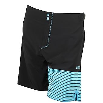 Virus Mens Hydro ST4 Performance Shorts - Black/Blue