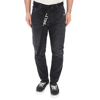 Off-white Black Denim Jeans