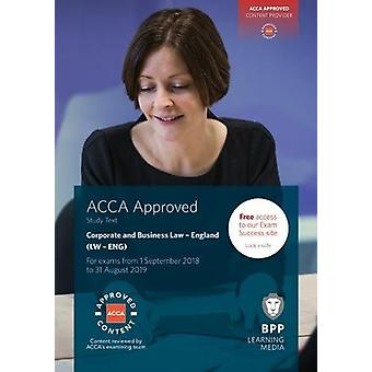 ACCA Corporate and Business Law (English) - Study Text by BPP Learning