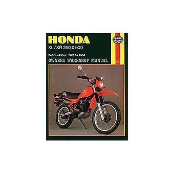 Honda XL/XR250 and 500 1978-84 Owner's Workshop Manual by Pete Shoema