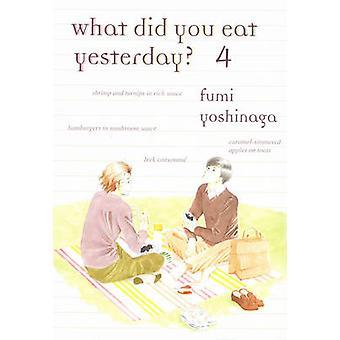 What Did You Eat Yesterday? - Volume 4 by Fumi Yoshinaga - 97819391307