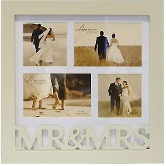 Amore Mr & Mrs Multi Collage Photo Frame | Gifts From Handpicked