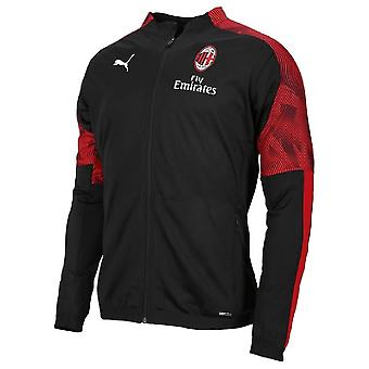 2019-2020 AC Milan Puma Poly Jacket (Black) - Kids