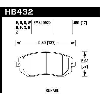 Hawk Performance HB432N.661 HP Plus