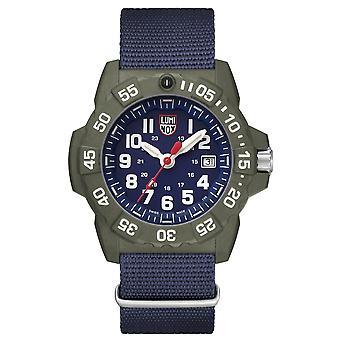 Luminox Navy SEAL 3500 Series Canvas Strap Men's Watch XS.3503.ND