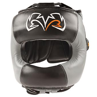 Rival Boxing Face Guard Headgear - Black/Gray