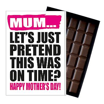 Funny Mother's Day Gift Boxed Chocolate Present Rude Greeting Card For Mom Mum Mumy MIYF134