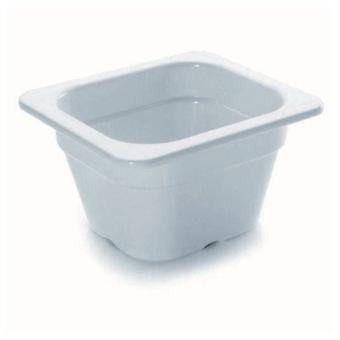 Lacor Bucket gn 1/6 melamine 176x162x65mm (Kitchen , Kitchen Organization , Others)