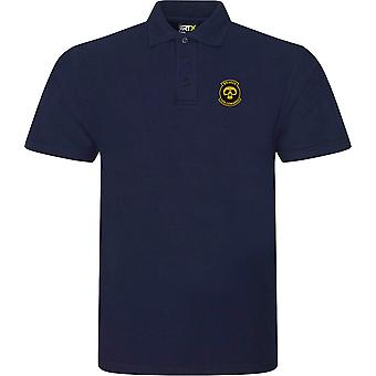 Brakes Are For Cowards Biker Embrodiered Logo - Polo Shirt