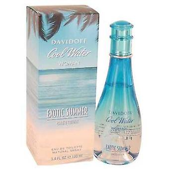 Cool Water Exotic Summer By Davidoff Eau De Toilette Spray (limited Edition) 3.4 Oz (women) V728-533637