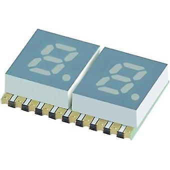 Seven-segment display Blue 5.08 mm 3.05 V No. of digits: 2 Kingbright