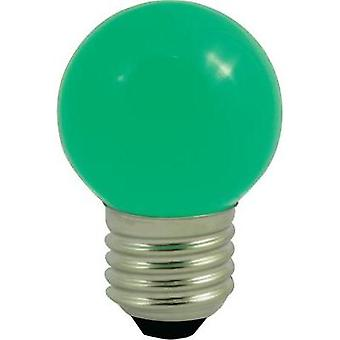 LED E27 Droplet 0.5 W Green (Ø x L) 45 mm x 70 mm EEC: n/a LightMe 1 pc(s)