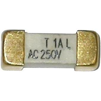 SMD fuse SMD oblong 4 A 250 V time delay -T-