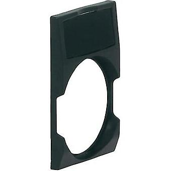 Label holder square Black BACO BALWP4 1 pc(s)