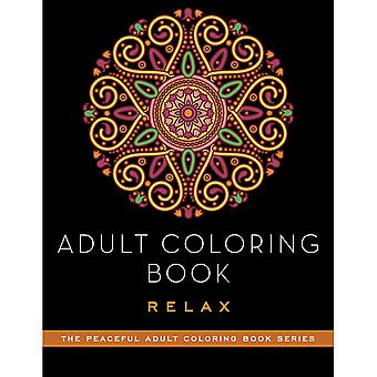 Skyhorse Publishing-Adult Coloring Book: Relax SKY-71121