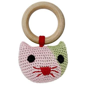 Franck & Fischer Heidi kitty rattle (Toys , Preschool , Babies , Early Childhood Toys)