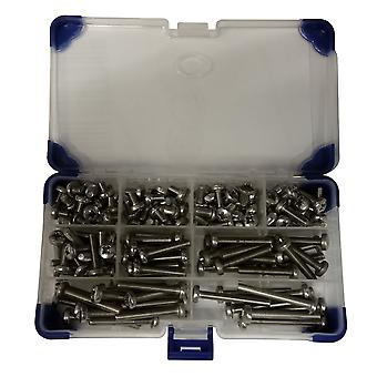 275Piece Pozi Pan Machine Set Screws A2 Stainless Steel M4 4MM