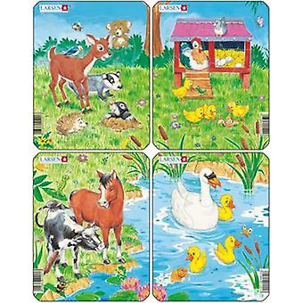 Larsen Cute Animals (Kids , Toys , Table Games , Puzzles)