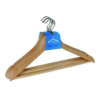 Wenko shaped hanger eco  8 pcs natural